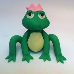Princess and the Frog Cake Topper  Cake Decorations by craftyrosy