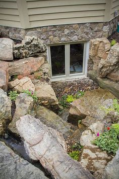 "window well ponds - may as a ""dry"" pond. would not a pond near my basement."