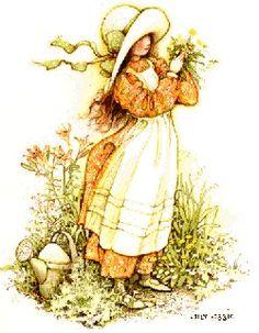 Sueños de niña: Holly Hobbie,en el jardín