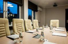 Hotel zajmuje się organizacją spotkań na najwyższym poziomie.