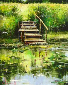 Gone Fishing by Gleb Goloubetski