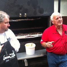 Mike Mills at the Business of Q School at his 17th Street BBQ in Murphysboro, IL