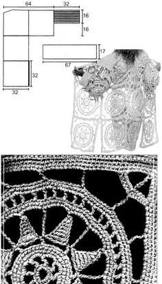 Прекрасная подборка красивых, стильных и эффектных кардиганов крючком - разные модели, мотивы и узоры и на каждый даётся подробная схема