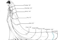 Veil length. This is a cool reference for people that have no idea what they're doing