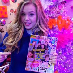 'Bella and the Bulldogs' star Brec Bassinger has seriously awesome taste in magazines!