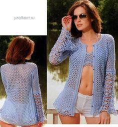 mis pasatiempos  amo el crochet¡¡¡¡:): Ideal para la playa