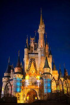 Magic Kingdom Park's Nighttime Castle Projection Show, Celebrate the Magic « Disney Parks Blog