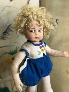 Early and completely original Lenci doll