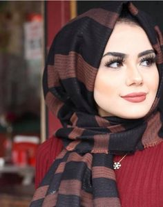 Beautiful Arab Women, Beautiful Hijab, Muslim Women Fashion, Islamic Fashion, Hijabi Girl, Girl Hijab, Gothic Lingerie, Muslim Beauty, Street Hijab Fashion