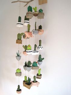 papier mache cacti | Flickr - Photo Sharing!
