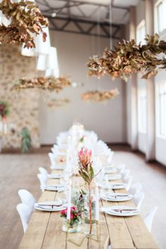 Stunning wedding at Poortjie wedding venue in heidelberg Gauteng, celebrating a romantic but modern farm wedding with gorgeous details in burgundy and gold! Wedding Ceremony Chairs, Wedding Table Linens, Wedding Reception Flowers, Rustic Wedding Venues, Farm Wedding, Wedding Blog, Wedding Dress, Floral Wedding Decorations, Wedding Table Centerpieces