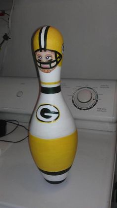 bowling pin football player