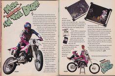 1991 YZ AD | Damon Bradshaw for the 1991 Yamaha YZ lineup | Tony Blazier | Flickr