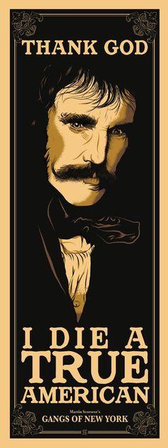 Bill the Butcher by Studiohouse Designs #cine #movies