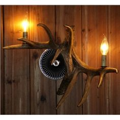 Artistic Antler Featured Wall Light with 2 Lights