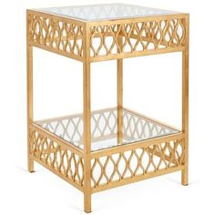 Check out this item at One Kings Lane! Felix Side Table, Gold