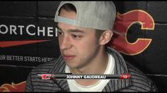 """""""The fans are the best, never seen so many people, with so much passion for hockey. Hockey Baby, Hockey Teams, Hockey Players, Johnny Gaudreau, Calgary, Love Of My Life, Nhl, Boyfriend, Fans"""