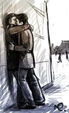 wall kiss