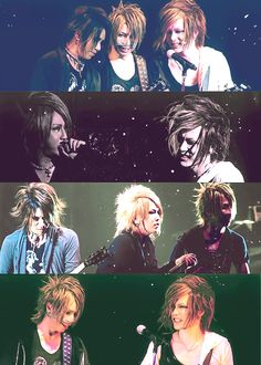 Ruki. Aoi. Reita. Uruha. The GazettE.