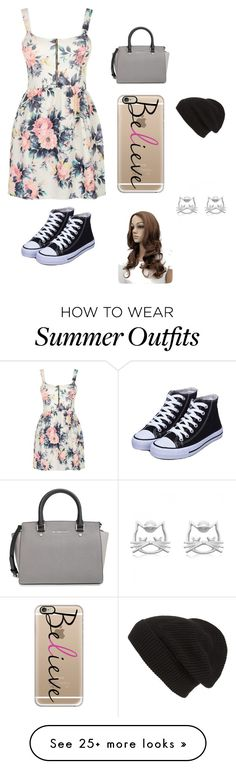 """""""Summer day out outfit"""" by outfits23 on Polyvore featuring Cameo Rose, MICHAEL Michael Kors, Casetify and Phase 3"""