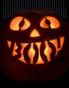 ☆ BOO! Pumpkin Carving Art ☆