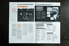 Lura Publication   Lura is a newspaper sized Trimestral Publication that focuses on educational events for children, visitors of the Centro Cultural Vila Flor, Guimarães.   Designers: Atelier Martino & Jaña   Image 15 of 15