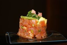 Delicious tuna tartar