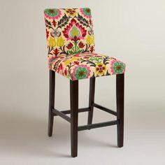 One of my favorite discoveries at WorldMarket.com: Desert Santa Maria Kerri Upholstered Barstool
