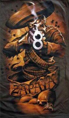 Chicano Art - Zapata
