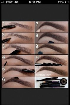 perfect brow shape✊