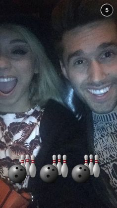 Kirstie and her boyfriend Jeremy