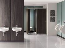 Best Commercial Bathrooms Images On Pinterest Public Bathrooms - Commercial restroom wall panels