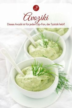 Avoziki - Tzatziki was yesterday! Recipe for a dip! - Dip recipes, avocado recipes: Recipe for an avoziki – the alternative to tzatziki. Avocado Toast, Avocado Dip, Avocado Recipes, Avocado Salat, Avocado Dessert, Best Nutrition Food, Health And Nutrition, Healthy Food, Seafood Dip