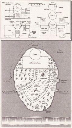layout of abhorsen's house