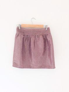7db5952585 Mini jupe plissée vintage Lacoste style jupe tennis. Rayée bleu et ...