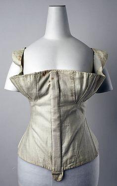 Corset, 1830s, American or European