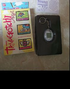 Bandai Tamagotchi Angel 1997 w/box instructions Silver with Wings Electronic Toy #Tamagotchi