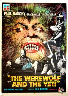 The Werewolf and the Yeti | One sheet poster