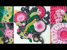 ▶ Build Up Freeform Crochet Projects How to Tutorial 1 Part 2 of 2 Freeform Crochet Art - YouTube