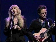 """Stevie Nicks and Lindsey Buckingham Live singing """"Landslide"""""""
