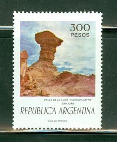 Argentina MNH Selections II: Scott #1108 300P Valley of the Moon San Juan Valley Of The Moon, Stamp Collecting, Postage Stamps, Ebay, Collection, The World, Argentina, Postage Stamp Design, San Juan