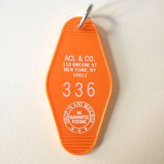 Just got my ACL hotel motel keychain in the mail today. A Continuous Lean is a great blog and I love that it even has souvenirs.  The key chain now hangs proudly from our key hook rack in the hallway.