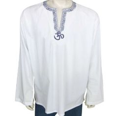 Mens Long Sleeve Casual Cotton Shirt Kurta India (Apparel)