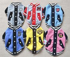 2014 новый Pet одежда одежда для собак одежда старший бейсбол флис свитер пальто для чихуахуа рождество спорт одежда для собак продукты