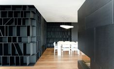 MCZ fireplace in a black bookcase | yourFire | project of Made Associati, Treviso, Italy http://www.improfitnow.com/category/make-money-ideas/