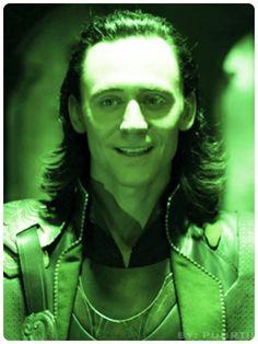 Loki...that shade of green looks good on him