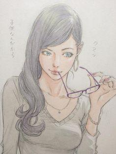 """窪之内英策 Eisaku on Twitter: """"手強い女上司。 http://t.co/JKxeNi0I4Y"""""""
