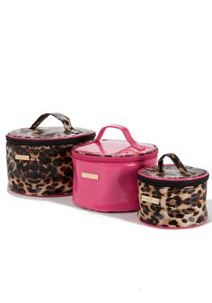 bebe Travel 3 Piece Cosmetic Bag Set - WEB EXCLUSIVE  $49