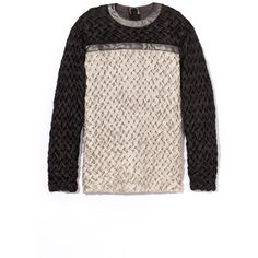 Rodarte Woven Top ($3,220) ❤ liked on Polyvore