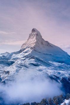 Freshly Coated Matterhorn | byRyan Albert.